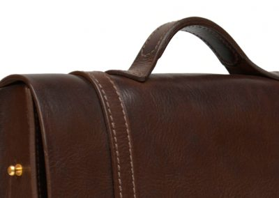 Leather Busiiness Messenger Bag 9