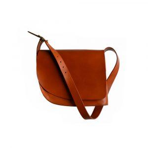 Leather Saddle Bag Main