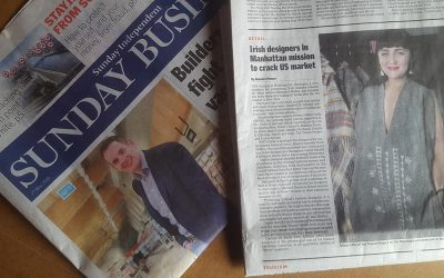 Irish Designers in Manhattan mission to crack US Market: Sunday Independent Article