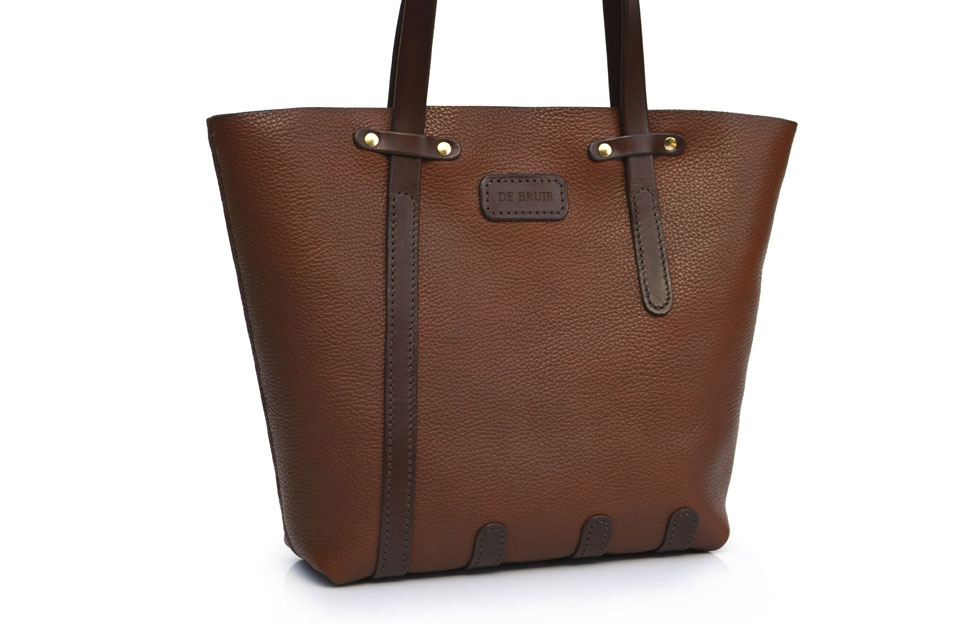De Bruir Handmade Designer Leather Bucket Tote 7