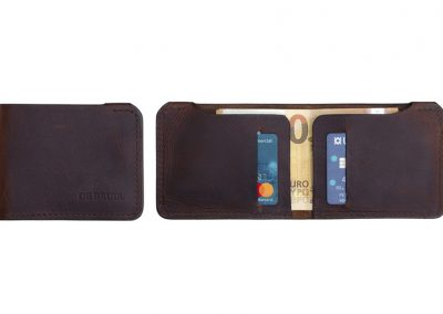 Mens leather wallet made in ireland