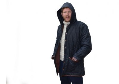 Parka-Wax Jacket 27---DE-BRUIR