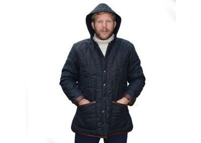 Parka-wax jacket 33---DE-BRUIR