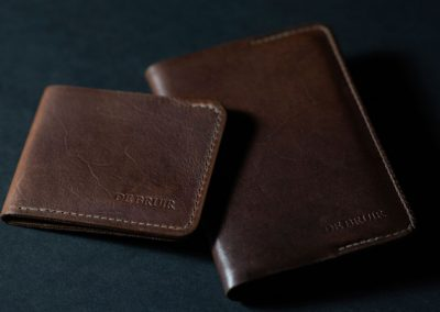 Leather Wallet made in Ireland