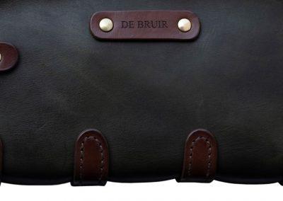 Leather Toiletry Bag by DE BRUIR