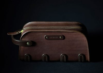 Leather Toilet Bag