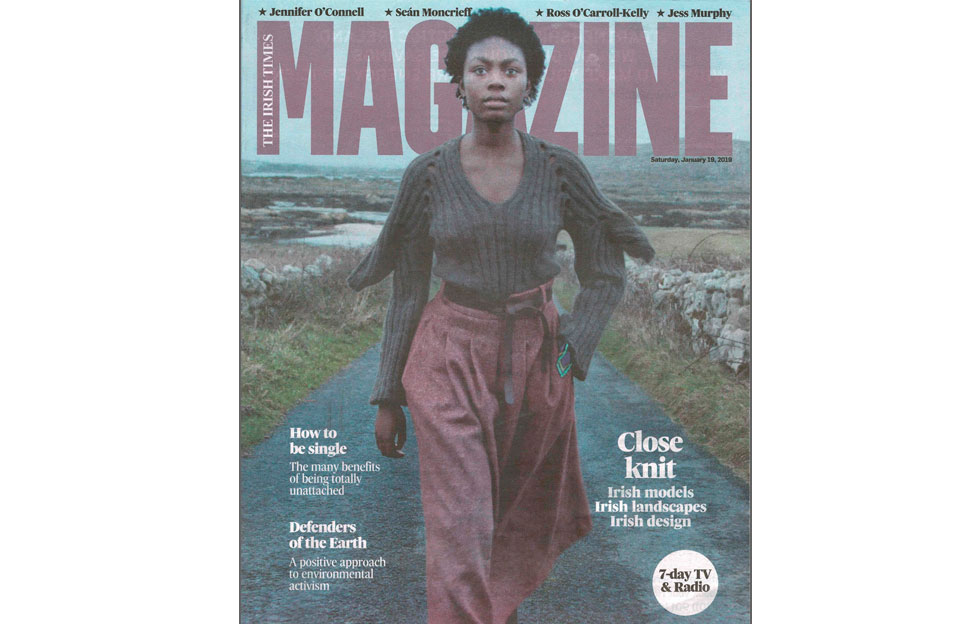 Fí – Fashion Film featured in the Irish Times Magazine