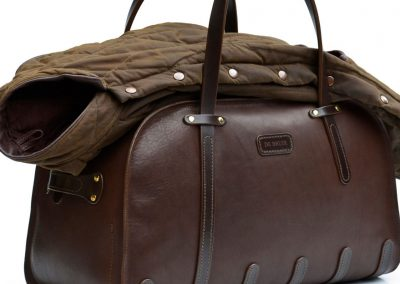 Irish Made Leather Holdall