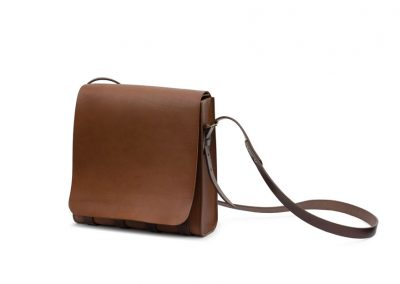 Leather Messenger Manbag