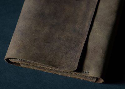Leather Sketchpad cover
