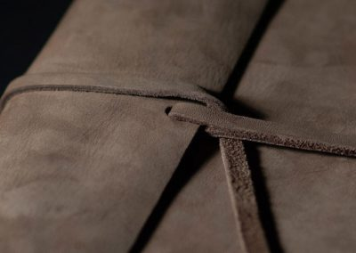 Leather Notebook handmade