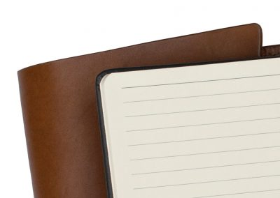 Notebook Wrap in Leather