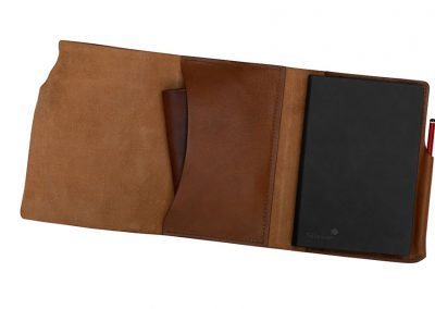 Leather Notebook Wrap made in ireland