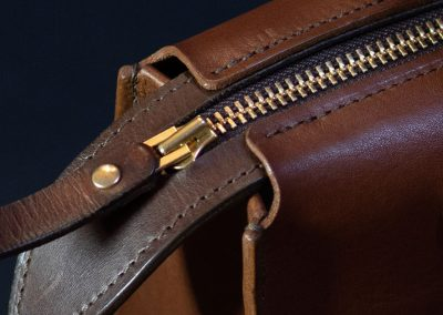 Leather Tote Bag Detail