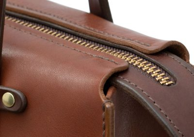 Leather Tote made in Ireland